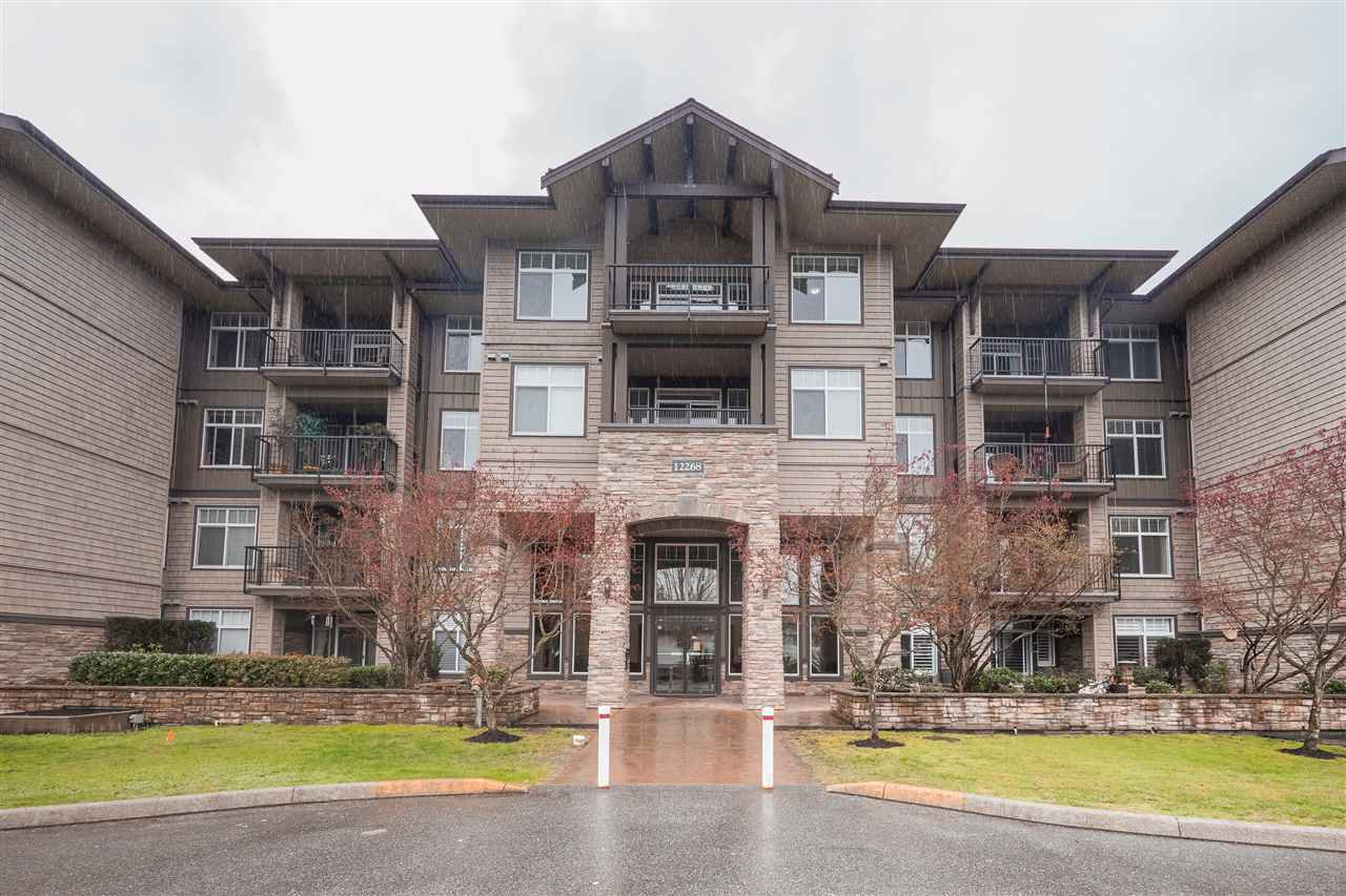 Main Photo: 410 12268 224 Street in Maple Ridge: East Central Condo for sale : MLS®# R2357823