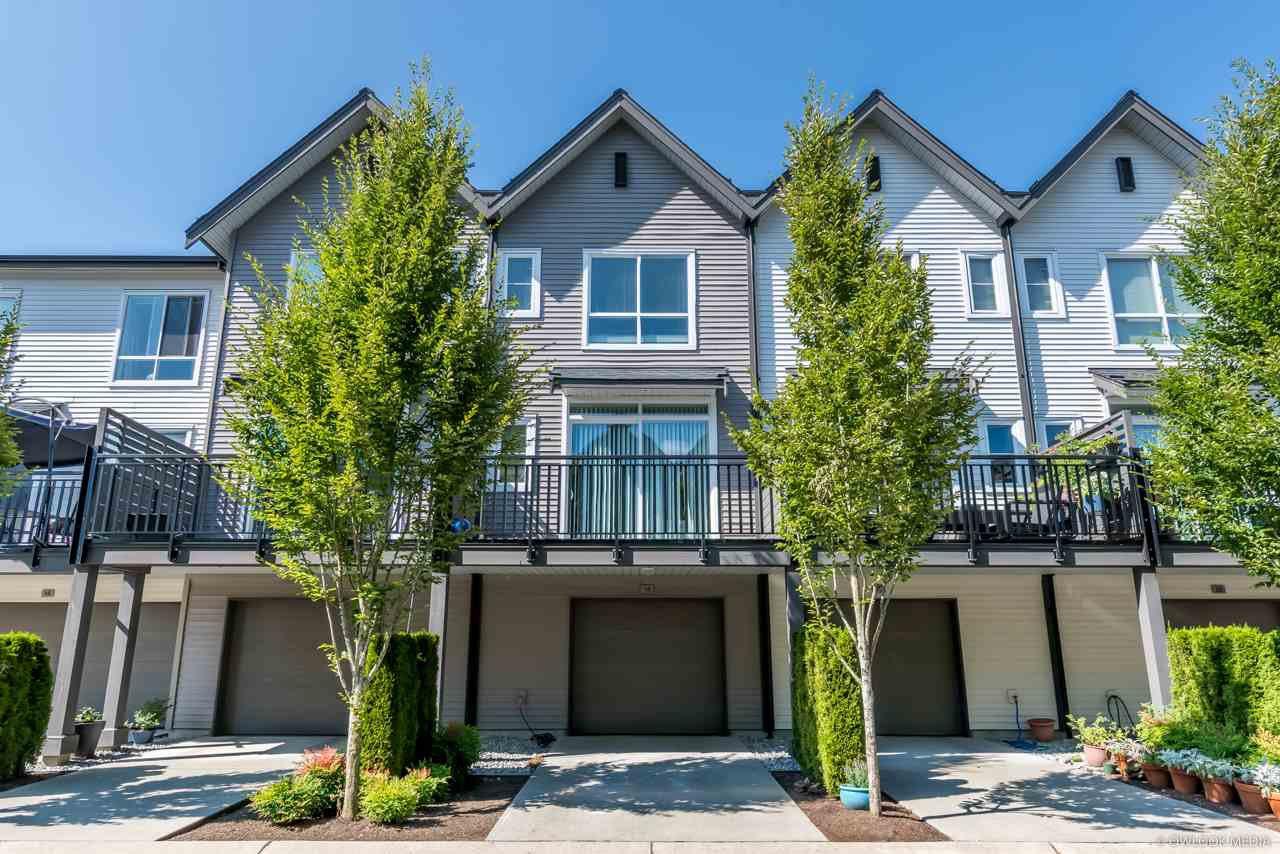 "Main Photo: 18 2358 RANGER Lane in Port Coquitlam: Riverwood Townhouse for sale in ""FREMONT INDIGO"" : MLS®# R2473193"