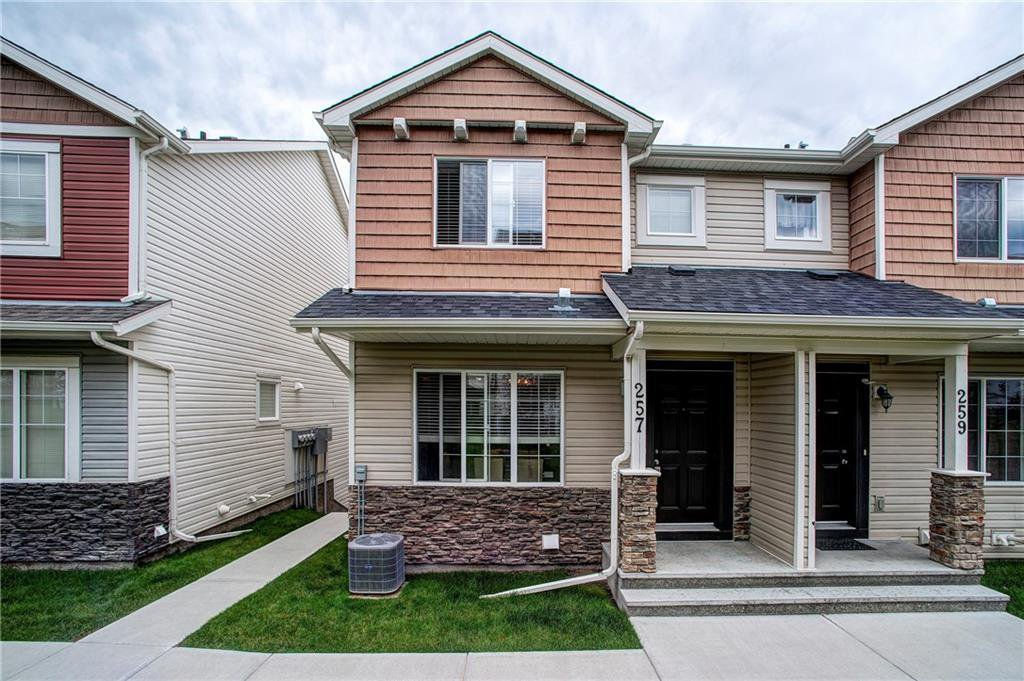 Main Photo: 257 PANTEGO Lane NW in Calgary: Panorama Hills Row/Townhouse for sale : MLS®# A1018119