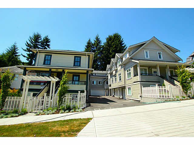 "Main Photo: 101 218 BEGIN Street in Coquitlam: Maillardville House for sale in ""BEGIN SQUARE"" : MLS®# V1132326"