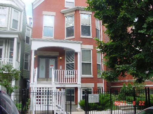 Main Photo: 1534 GEORGE Street Unit 2 in CHICAGO: CHI - Lake View Rentals for rent ()  : MLS®# 09020345