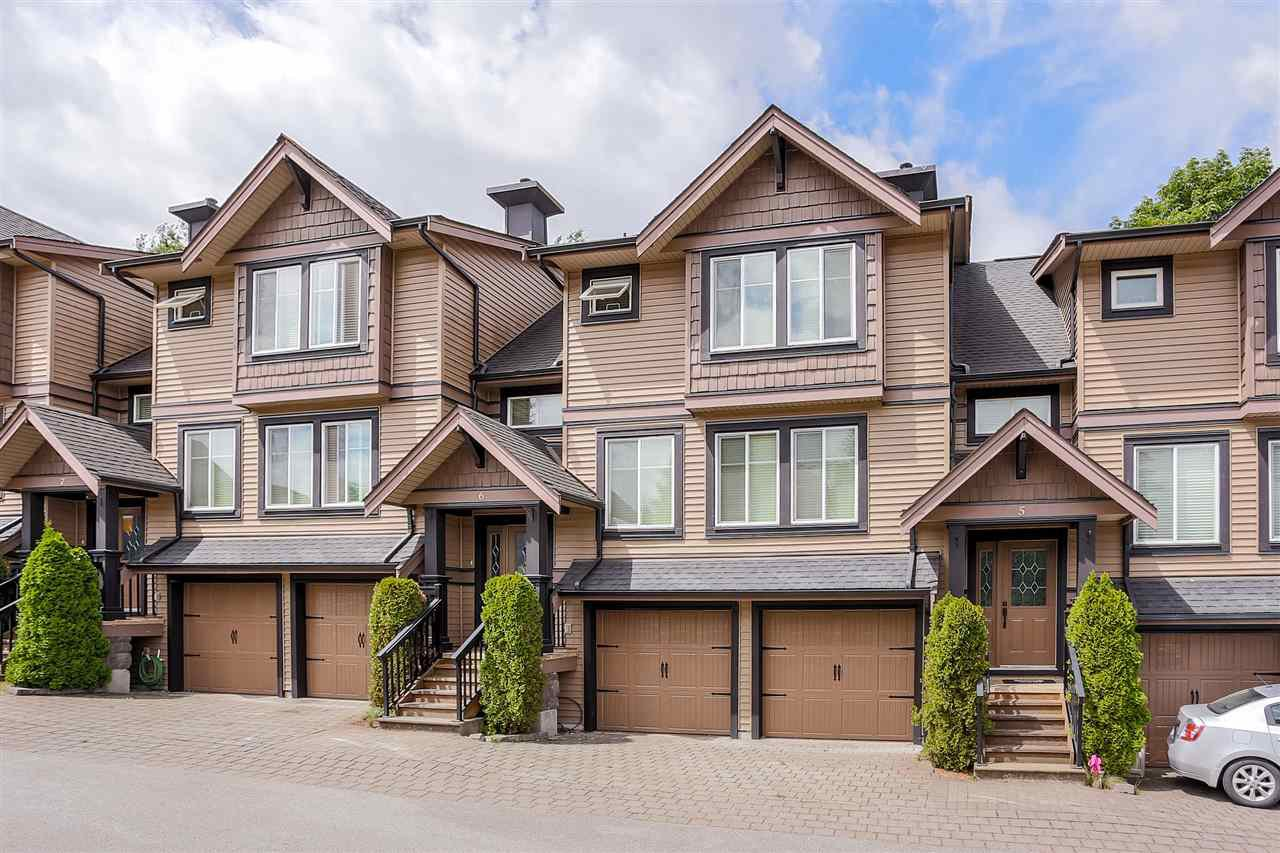 "Main Photo: 6 22206 124 Avenue in Maple Ridge: West Central Townhouse for sale in ""COPPERSTONE RIDGE"" : MLS®# R2064079"