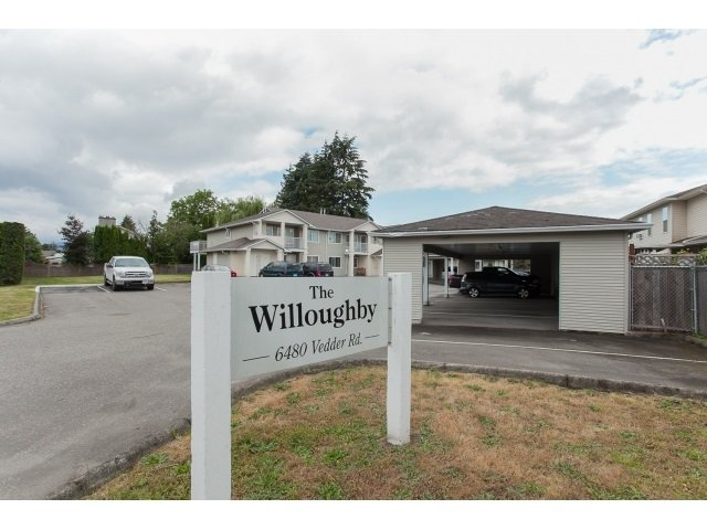 "Main Photo: 6 6480 VEDDER Road in Sardis: Sardis East Vedder Rd Townhouse for sale in ""WILLOUGBY"" : MLS®# R2067625"