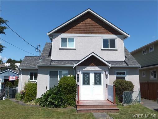 Main Photo: 1002 Lyall St in VICTORIA: Es Old Esquimalt Single Family Detached for sale (Esquimalt)  : MLS®# 731581