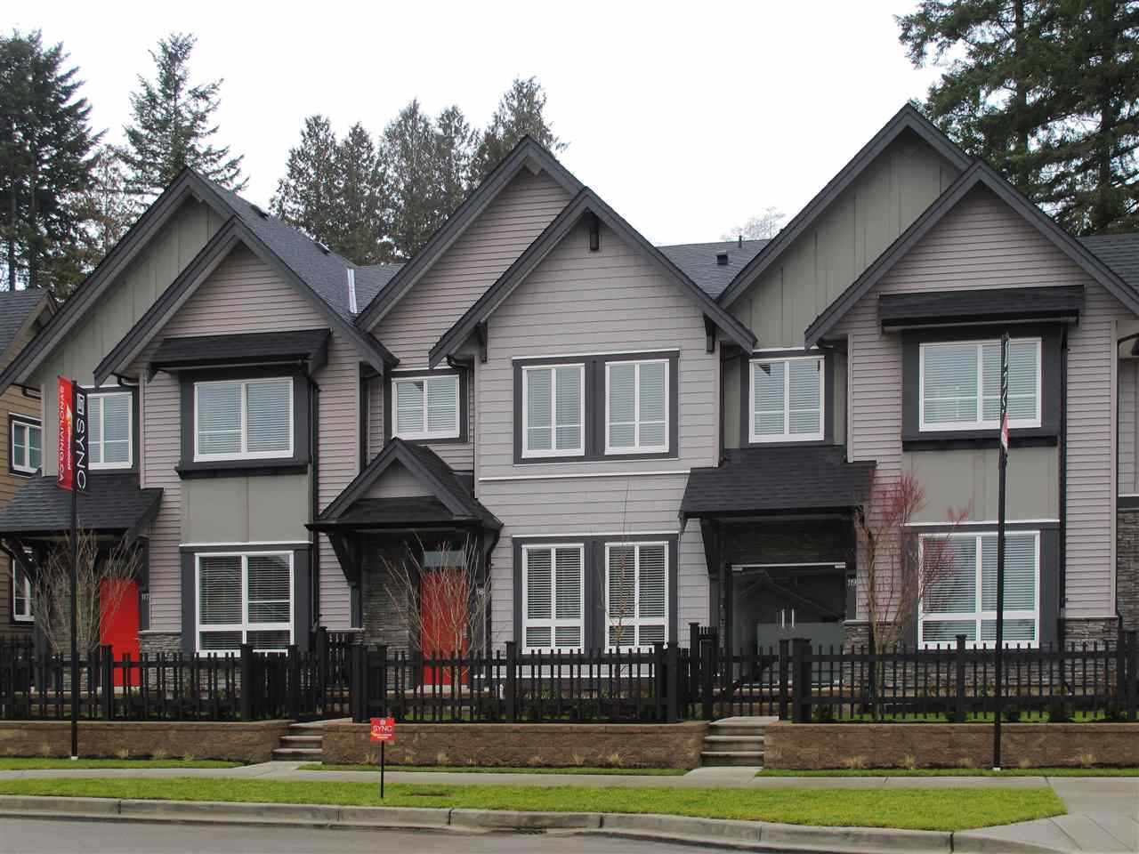 """Main Photo: 47 14555 68TH Avenue in Surrey: East Newton Townhouse for sale in """"Sync"""" : MLS®# R2145354"""
