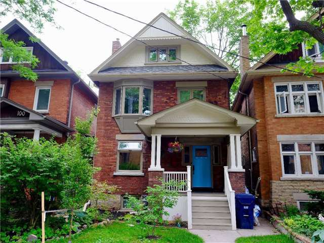 Main Photo: 102 Gothic Avenue in Toronto: High Park North House (3-Storey) for lease (Toronto W02)  : MLS®# W3869211