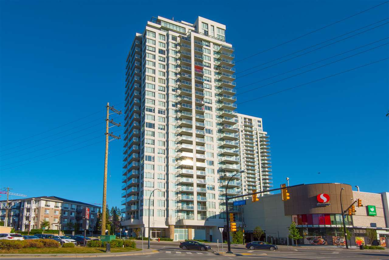 Main Photo: 2704 602 COMO LAKE Avenue in Coquitlam: Coquitlam West Condo for sale : MLS®# R2339062