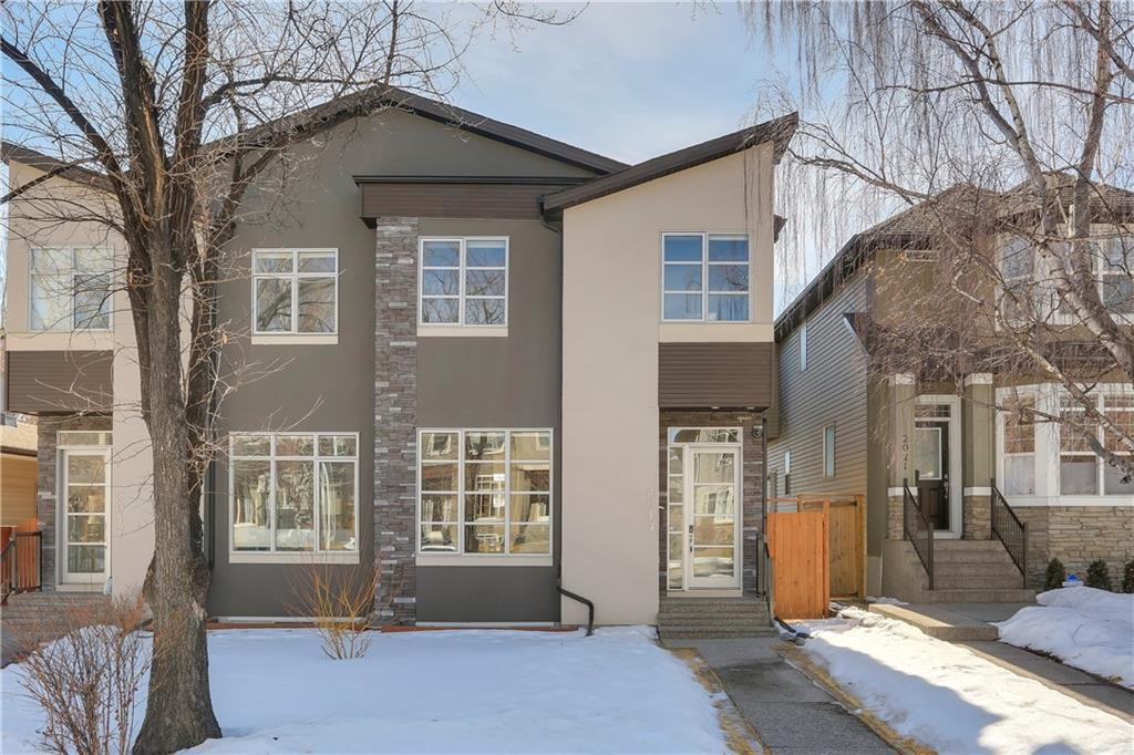 Main Photo: 2019 41 Avenue SW in Calgary: Altadore Semi Detached for sale : MLS®# C4235237
