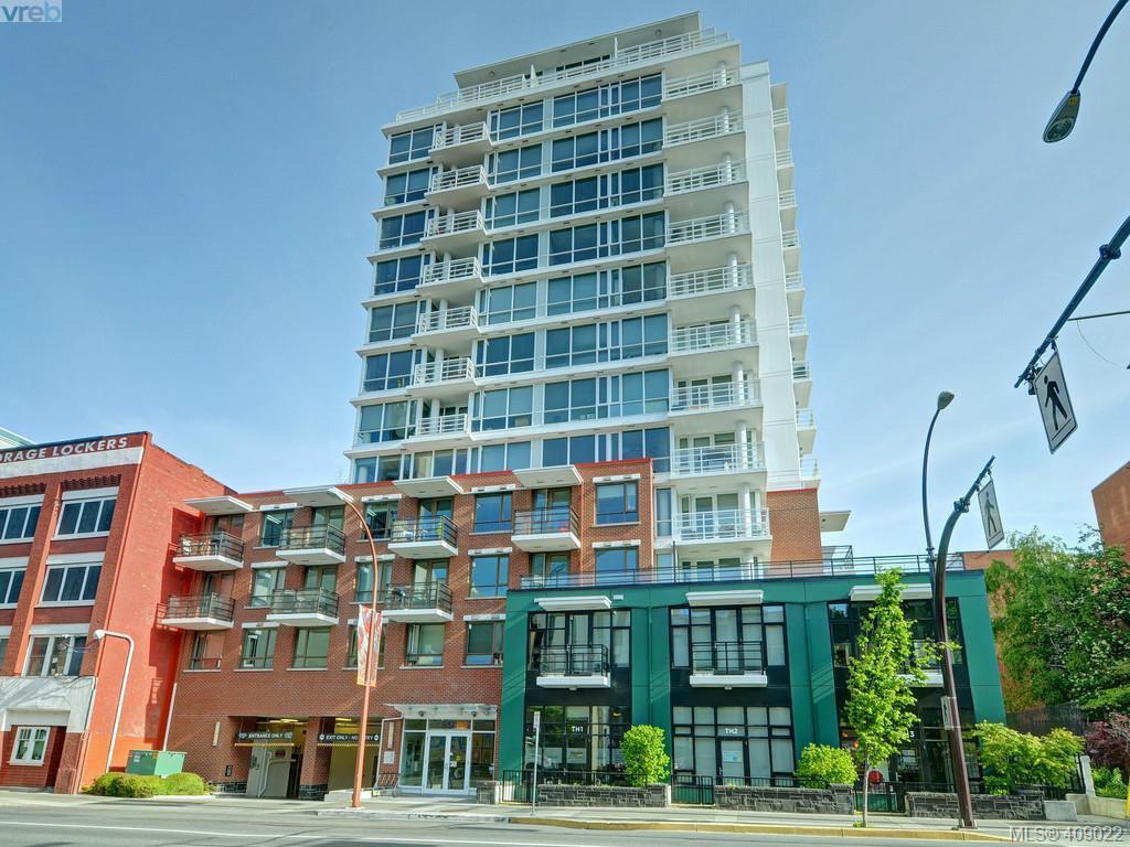 Main Photo: 1004 834 Johnson St in VICTORIA: Vi Downtown Condo Apartment for sale (Victoria)  : MLS®# 812740