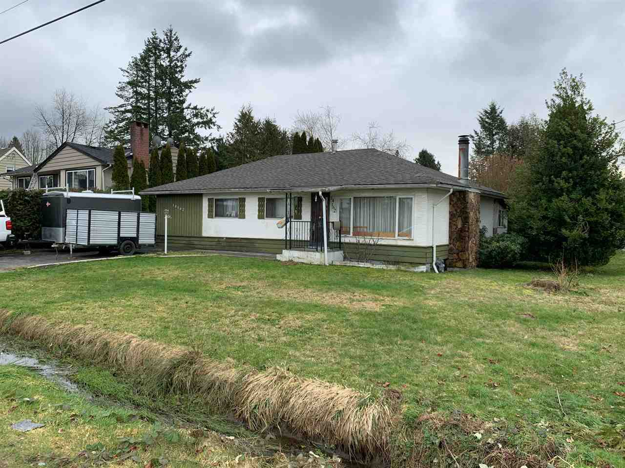 """Main Photo: 14162 110 Avenue in Surrey: Bolivar Heights House for sale in """"WHALLEY"""" (North Surrey)  : MLS®# R2436500"""