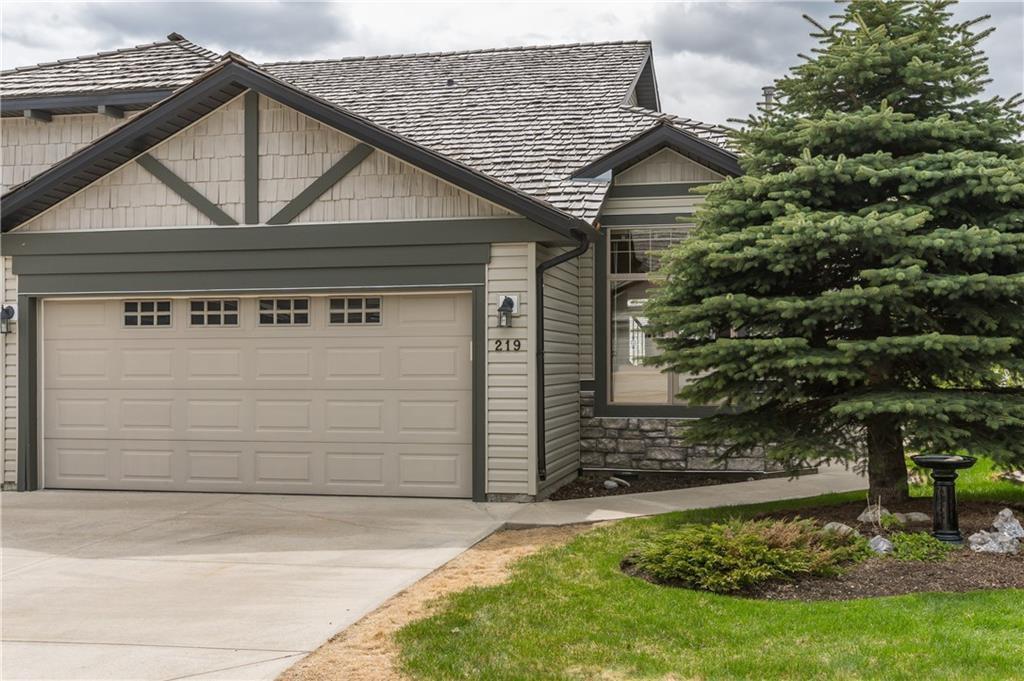 Main Photo: 219 SPRINGBANK Villas SW in Calgary: Springbank Hill Semi Detached for sale : MLS®# A1031788