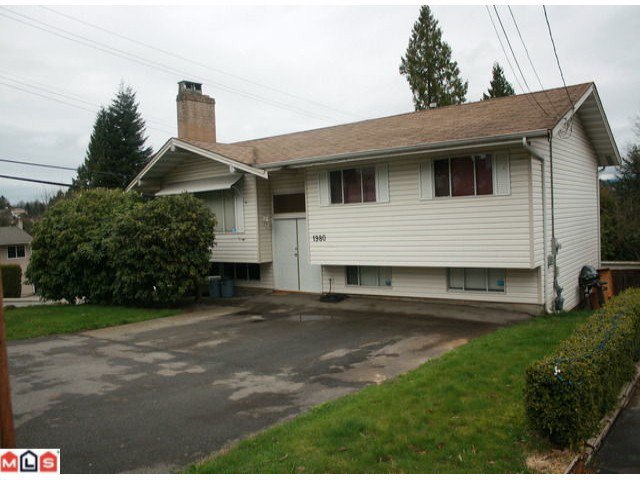 "Main Photo: 1980 DAHL in Abbotsford: Central Abbotsford House for sale in ""South East Abby"" : MLS®# F1108262"