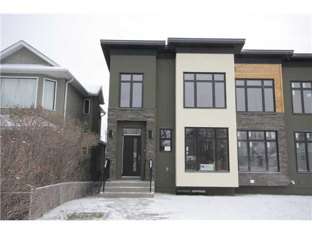 Main Photo: 2640 26 A Street SW in CALGARY: Killarney Glengarry Residential Attached for sale (Calgary)  : MLS®# C3500453