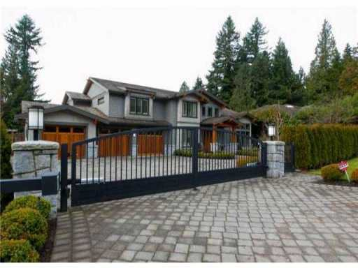 Main Photo: 514 HADDEN DR in West Vancouver: British Properties House for sale : MLS®# V965692