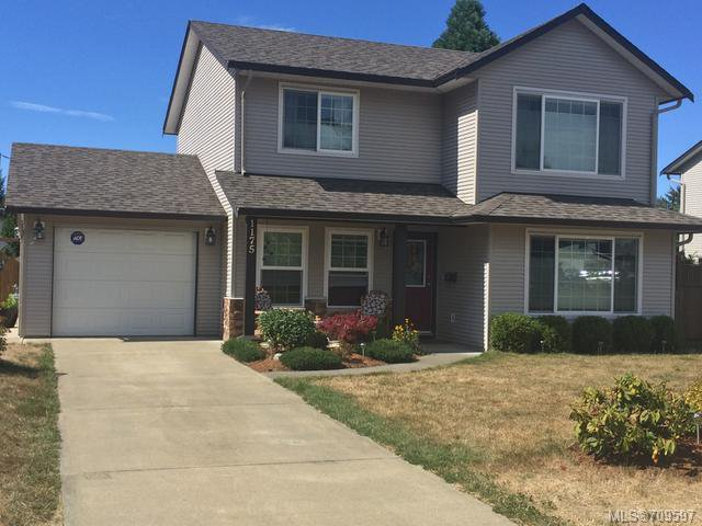 Main Photo: 1175 HORNBY PLACE in COURTENAY: CV Courtenay City House for sale (Comox Valley)  : MLS®# 709597
