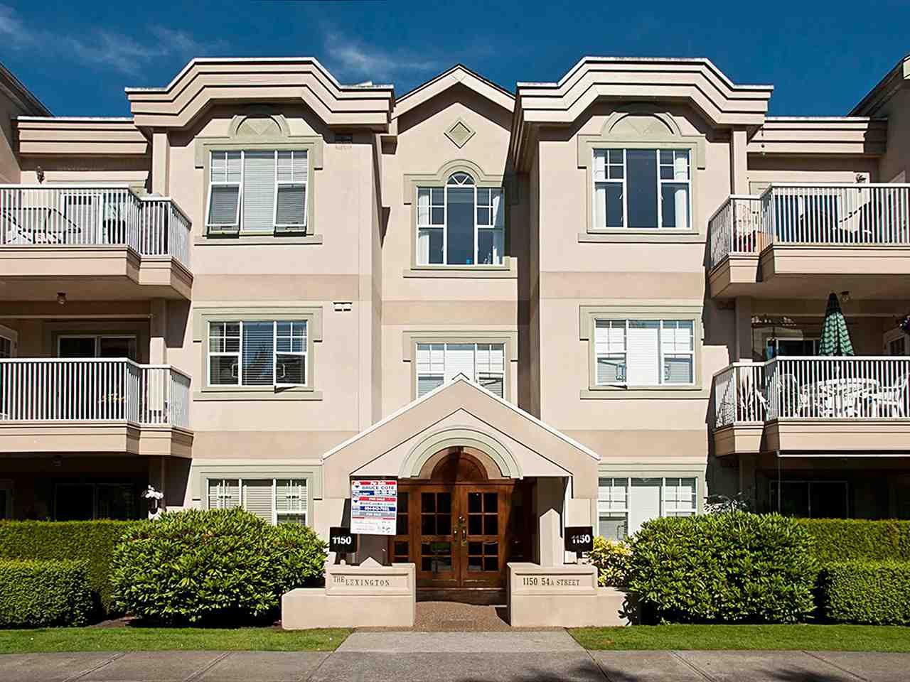 Main Photo: 211 1150 54A Street in Delta: Tsawwassen Central Condo for sale (Tsawwassen)  : MLS®# R2150735