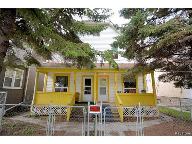 Main Photo: 97 Grove Street in Winnipeg: Point Douglas Residential for sale (9A)  : MLS®# 1712937