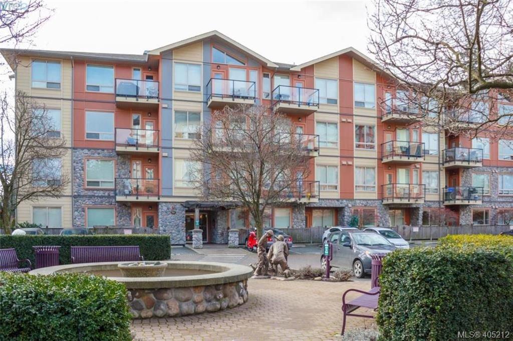 Main Photo: 108 825 Goldstream Avenue in VICTORIA: La Langford Proper Condo Apartment for sale (Langford)  : MLS®# 405212