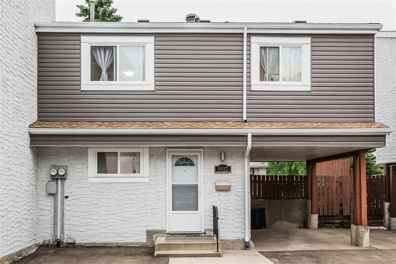 Main Photo: 5512 19A Avenue in Edmonton: Zone 29 House Half Duplex for sale : MLS®# E4159801
