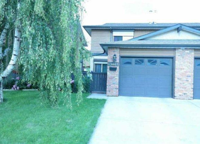 Main Photo: 13607 28 Street in Edmonton: Zone 35 House Half Duplex for sale : MLS®# E4172764