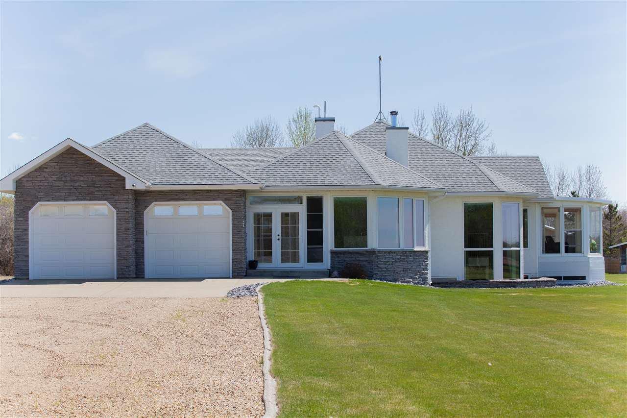 Main Photo: 25215 TWP 571: Rural Sturgeon County House for sale : MLS®# E4197626
