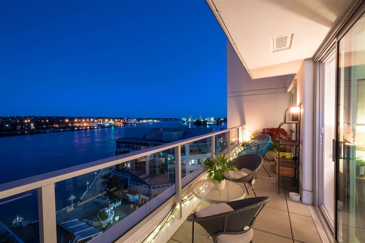 """Main Photo: 902 908 QUAYSIDE Drive in New Westminster: Quay Condo for sale in """"Riversky 1"""" : MLS®# R2478422"""