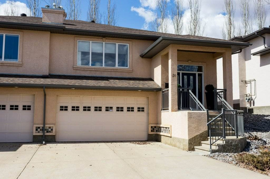 Main Photo: 21 50 Oakridge Drive: St. Albert House Half Duplex for sale : MLS®# E4219604