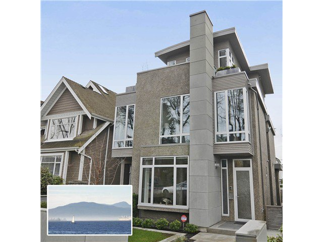 """Main Photo: 2048 WHYTE Avenue in Vancouver: Kitsilano House 1/2 Duplex for sale in """"Kits Point"""" (Vancouver West)  : MLS®# V1055098"""