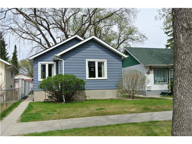 Main Photo: 67 Crystal Avenue in WINNIPEG: St Vital Residential for sale (South East Winnipeg)  : MLS®# 1511660