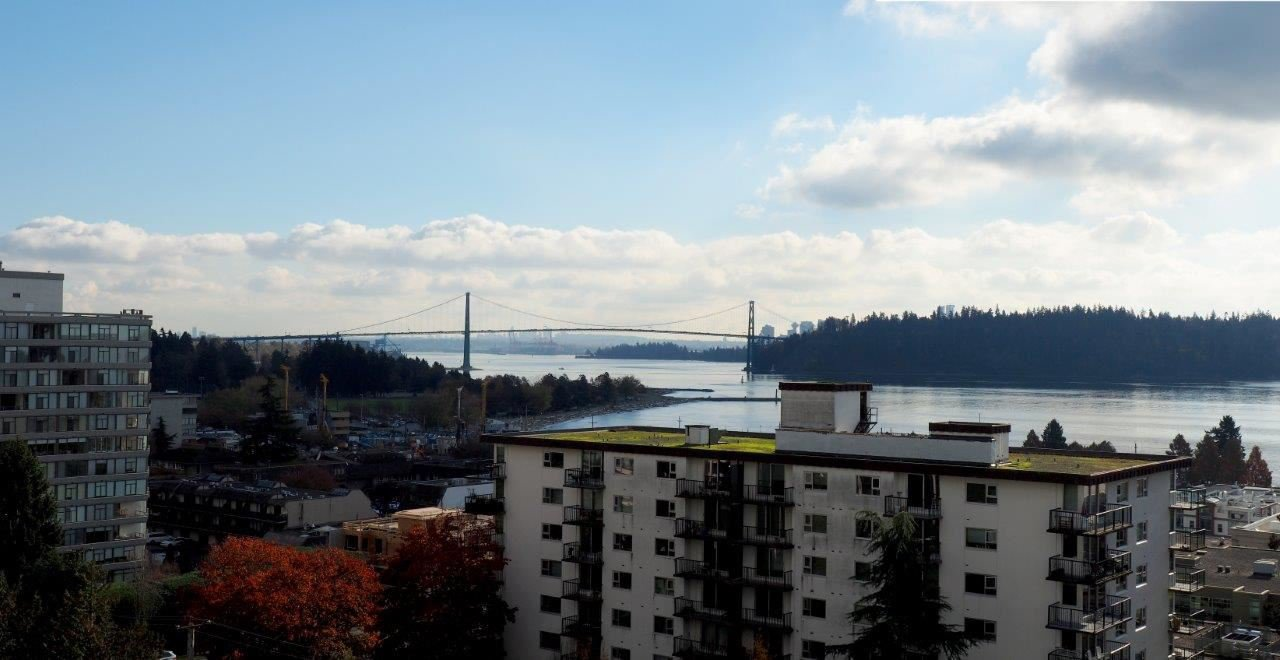 """Main Photo: 803 650 16TH Street in West Vancouver: Ambleside Condo for sale in """"WESTSHORE PLACE"""" : MLS®# R2013074"""