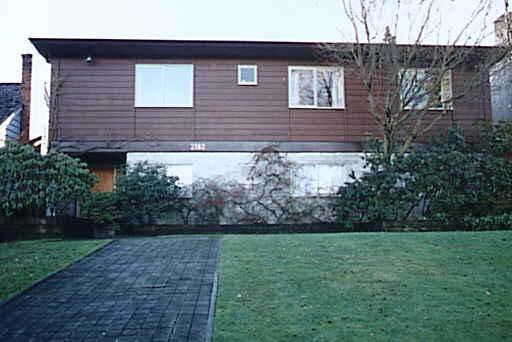 Main Photo: 2182 W 32ND AVENUE in : Quilchena House for sale : MLS®# V068434