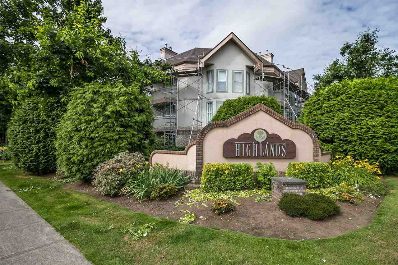 "Main Photo: 103 7171 121 Street in Surrey: West Newton Condo for sale in ""THE HIGHLANDS"" : MLS®# R2086342"