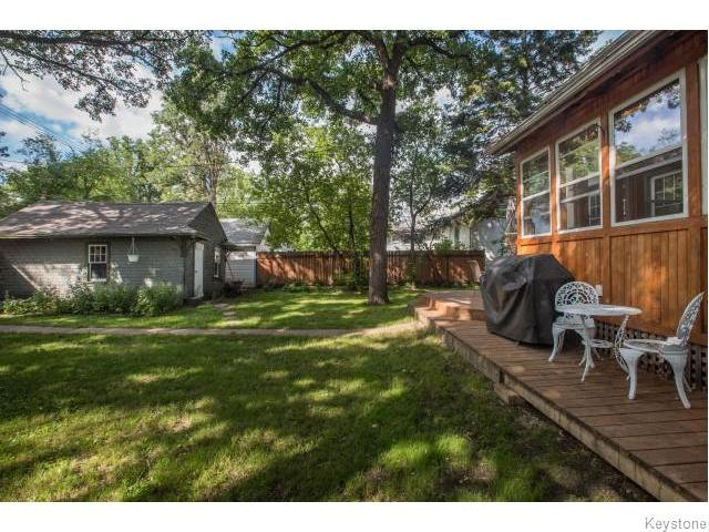 Photo 16: Photos: 274 Ashland Avenue in Winnipeg: Riverview Residential for sale (1A)  : MLS®# 1620228