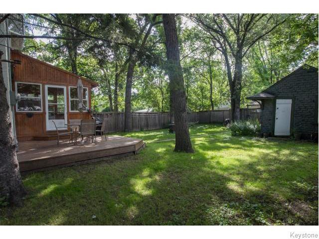 Photo 14: Photos: 274 Ashland Avenue in Winnipeg: Riverview Residential for sale (1A)  : MLS®# 1620228