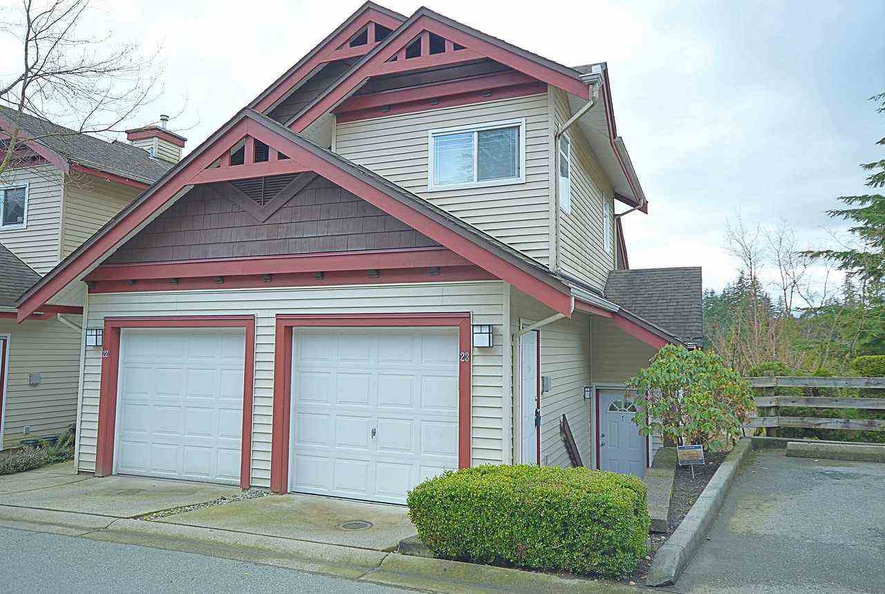 "Main Photo: 23 15 FOREST PARK Way in Port Moody: Heritage Woods PM Townhouse for sale in ""DISCOVERY RIDGE"" : MLS®# R2148840"