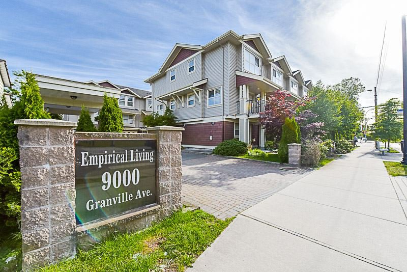 """Main Photo: 5 9000 GRANVILLE Avenue in Richmond: McLennan North Townhouse for sale in """"EMPERICAL LIVING"""" : MLS®# R2189583"""