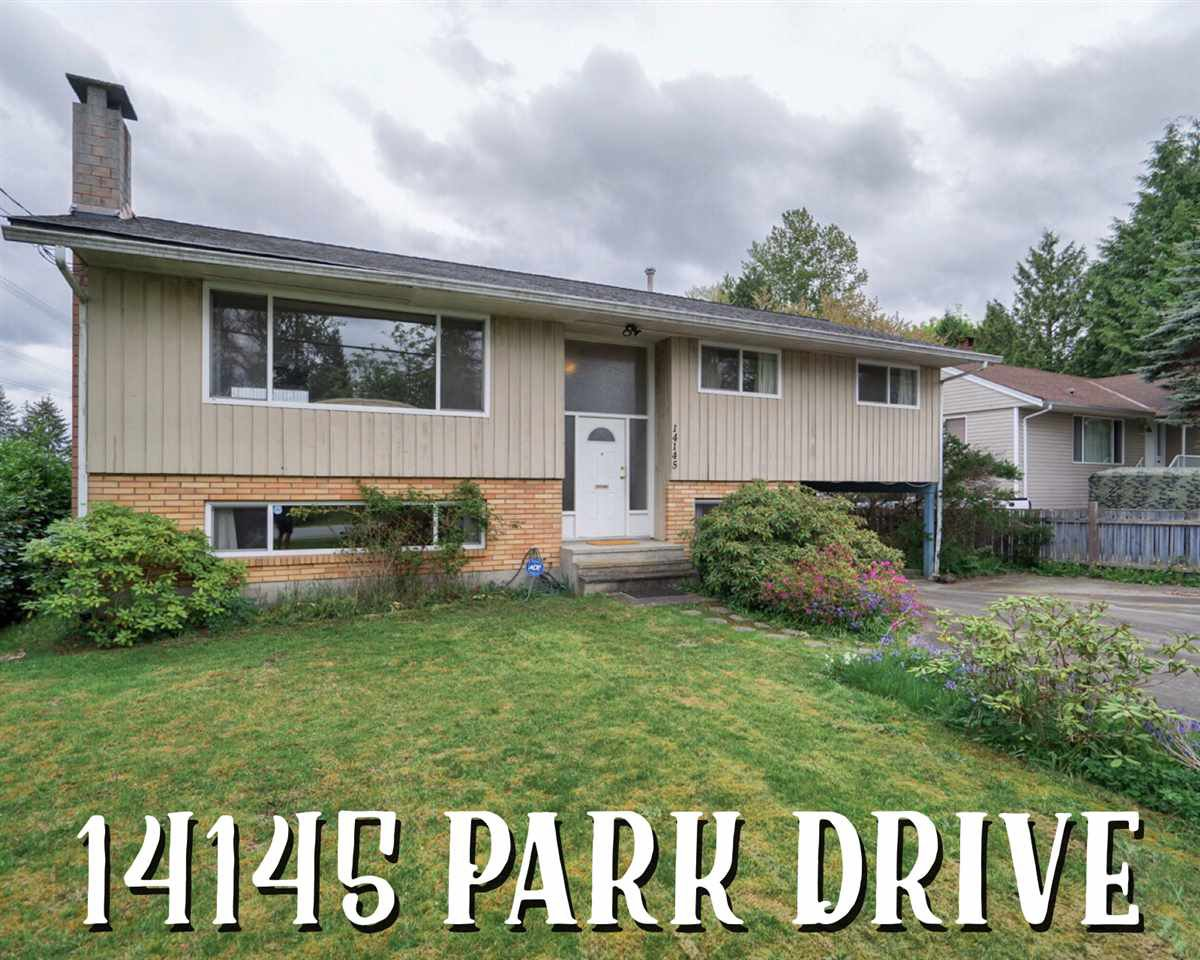 Main Photo: 14145 PARK Drive in Surrey: Bolivar Heights House for sale (North Surrey)  : MLS®# R2335286