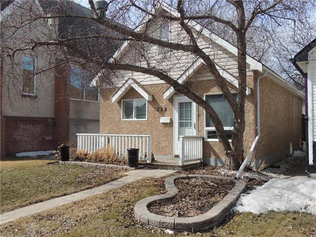 Main Photo: 238 Parkview Street in Winnipeg: St James Residential for sale (5E)  : MLS®# 1908584