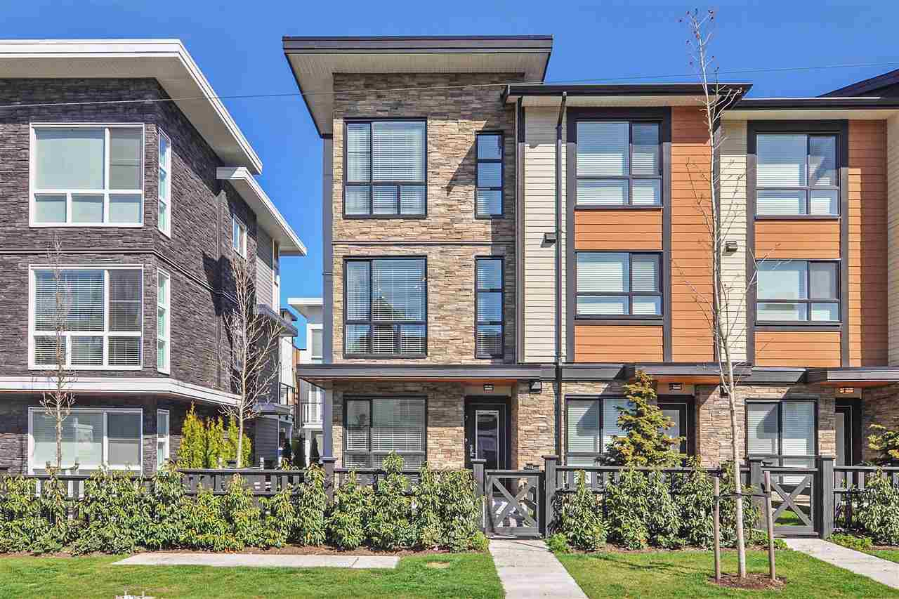 "Main Photo: 7 20857 77A Avenue in Langley: Willoughby Heights Townhouse for sale in ""WEXLEY"" : MLS®# R2367203"