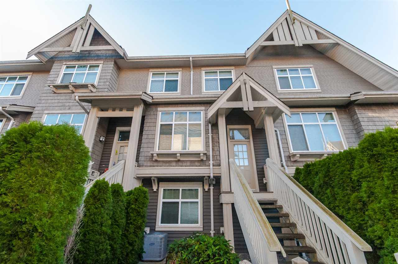Main Photo: 48 9800 ODLIN Road in Richmond: West Cambie Townhouse for sale : MLS®# R2418529