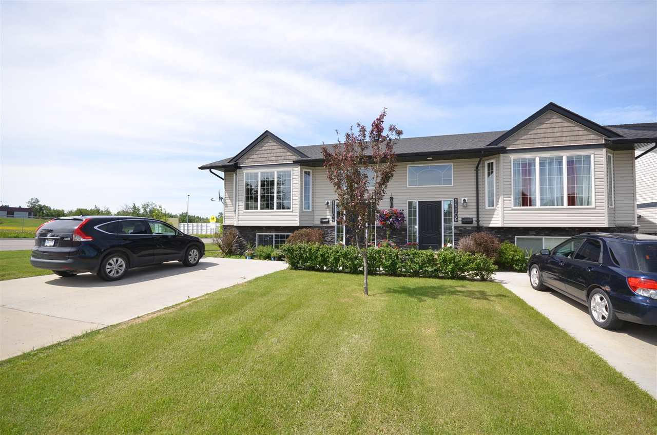 Main Photo: 11104 106 Street in Fort St. John: Fort St. John - City NW 1/2 Duplex for sale (Fort St. John (Zone 60))  : MLS®# R2465634