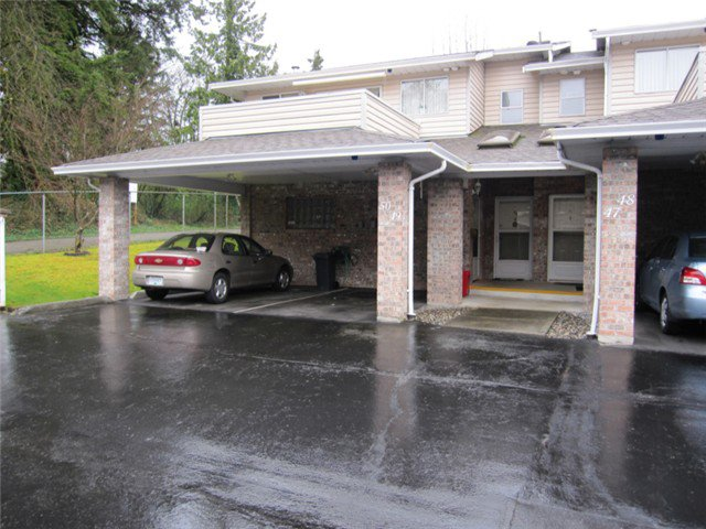 "Main Photo: 49 22308 124TH Avenue in Maple Ridge: West Central Townhouse for sale in ""BRANDY WYND ESTATES"" : MLS®# V1056748"