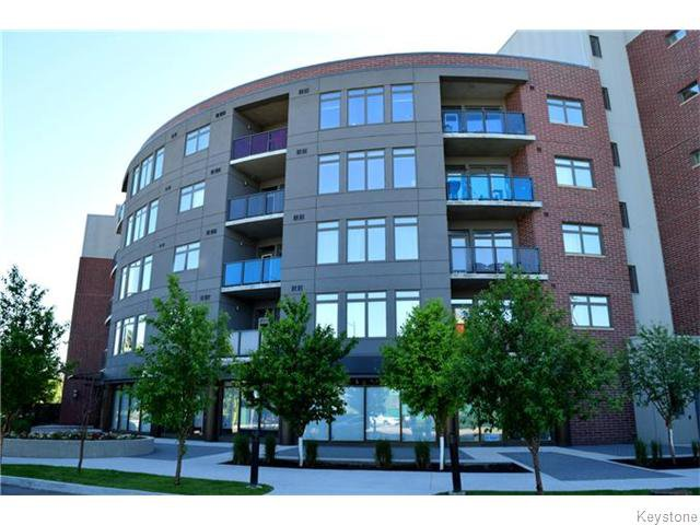 Main Photo: 340 Waterfront Drive in Winnipeg: Central Winnipeg Condominium for sale : MLS®# 1618950