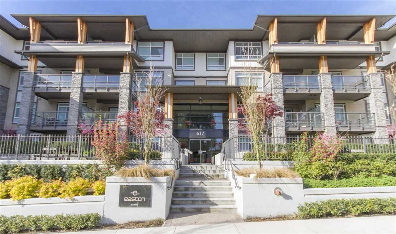 Main Photo: 212 617 SMITH Avenue in Coquitlam: Coquitlam West Condo for sale : MLS®# R2135342