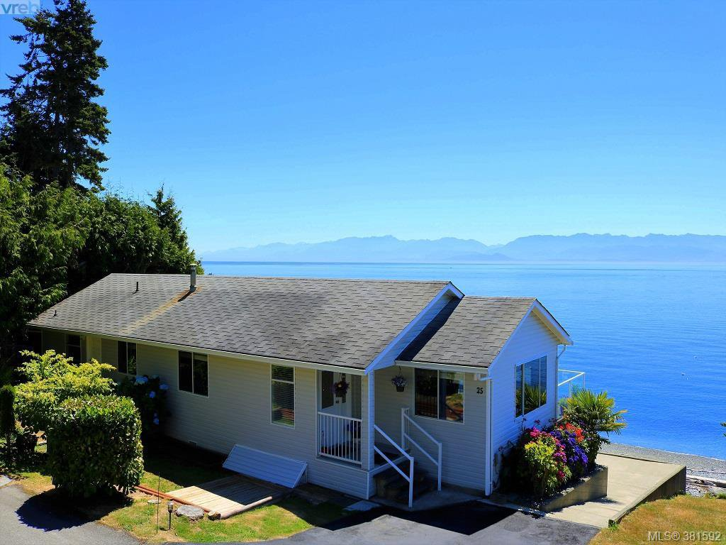 Main Photo: 25 8177 West Coast Rd in SOOKE: Sk West Coast Rd Manufactured Home for sale (Sooke)  : MLS®# 766669