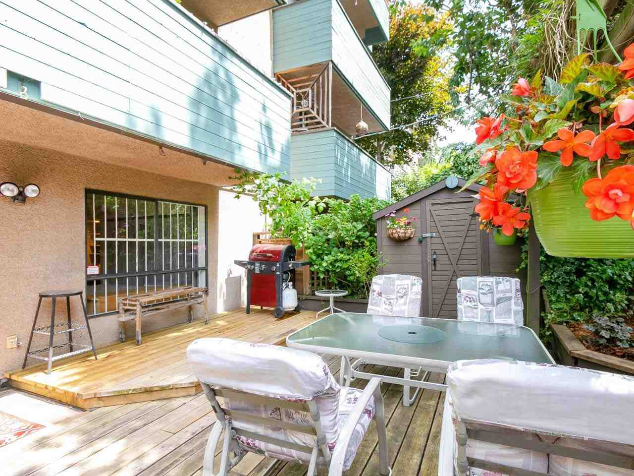 """Photo 2: Photos: 104 1516 CHARLES Street in Vancouver: Grandview VE Condo for sale in """"GARDEN TERRACE"""" (Vancouver East)  : MLS®# R2295886"""