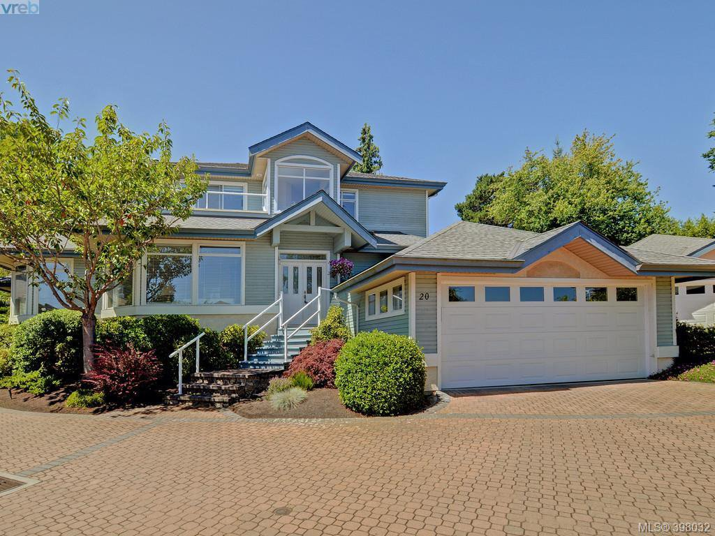 Main Photo: 20 5187 Cordova Bay Road in VICTORIA: SE Cordova Bay Townhouse for sale (Saanich East)  : MLS®# 398032