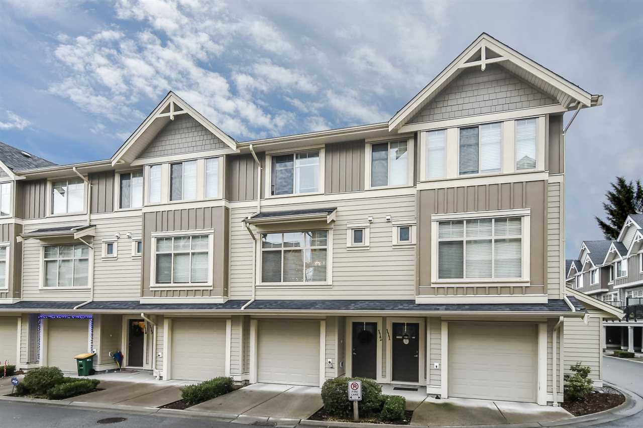 "Main Photo: 112 19525 73 Avenue in Surrey: Clayton Townhouse for sale in ""UPTOWN 2"" (Cloverdale)  : MLS®# R2328349"