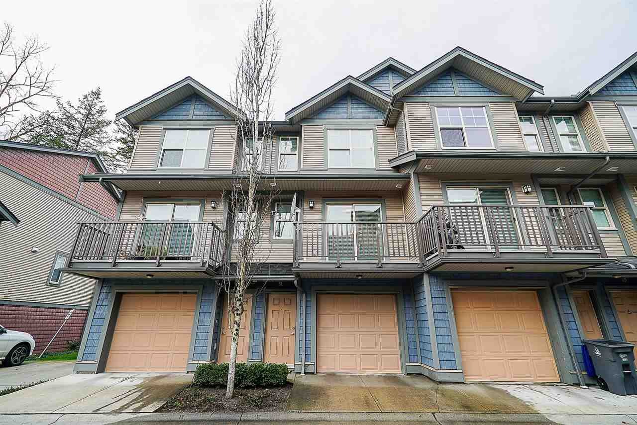 """Main Photo: 51 7121 192 Street in Surrey: Clayton Townhouse for sale in """"Allegro"""" (Cloverdale)  : MLS®# R2331826"""