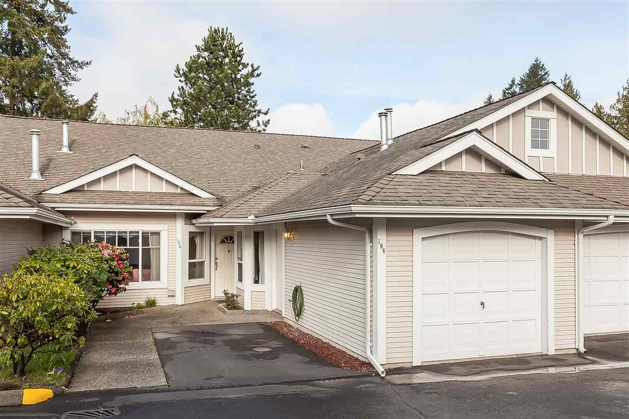 "Main Photo: 108 20655 88 Avenue in Langley: Walnut Grove Townhouse for sale in ""TWIN LAKES"" : MLS®# R2358948"
